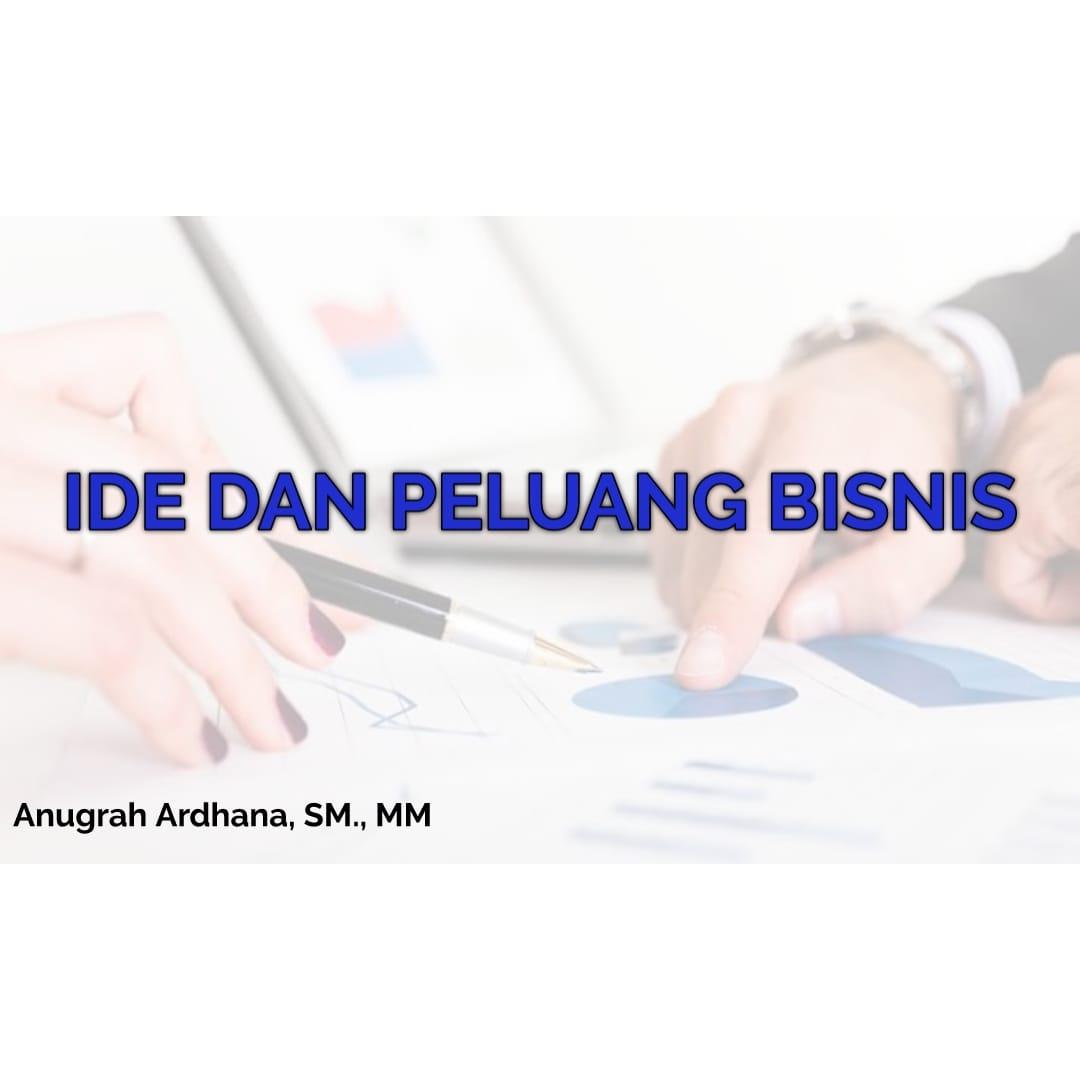 2020 / 2021 Ide dan Peluang Bisnis